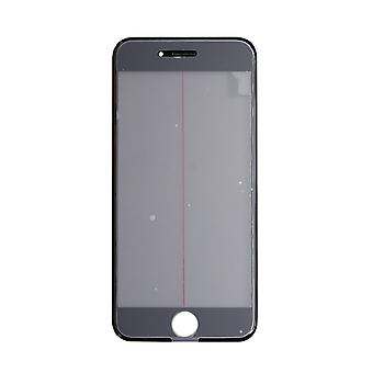 4 In 1 Black Top Glass & Frame For iPhone 6S | iParts4u