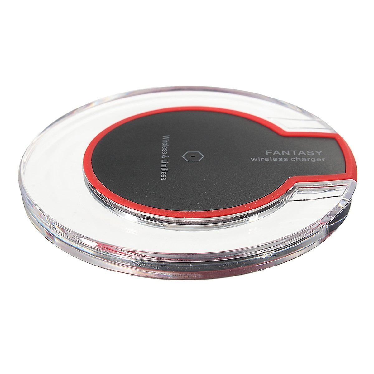 Qi wireless fast charging desktop mobile phone charger pad