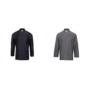Premier Unisex Denim Chefs Jacket (Pack of 2)