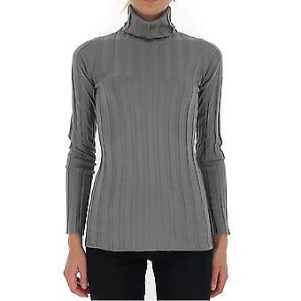Fabiana Filippi Mad129b904n9078140 Women's Grey Cashmere Sweater