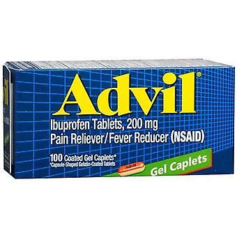 Advil advanced medicine for pain, 200 mg, gel capsules, 100 ea