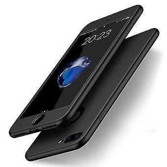 Thin shockproof hybrid 360 tpu gel iphone x case
