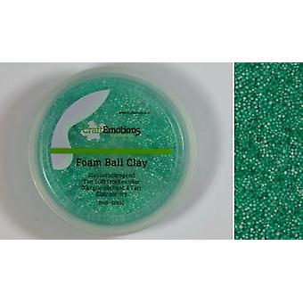 CraftEmotions Foamball clay - green 75ml - 23gr Air dry