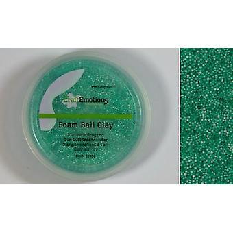 CraftEmotions Foamball Clay - Grün 75ml - 23g Luft trocken
