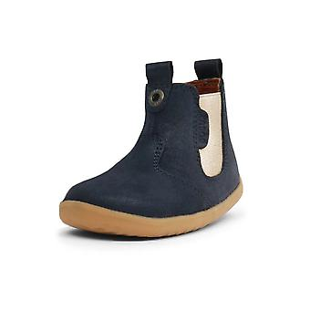 Bobux step up navy shimmer jodhpur boots