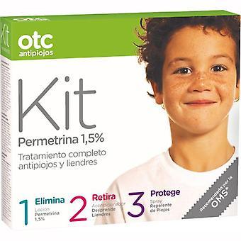 Otc Antipiojos Kit 123 with Permethrin