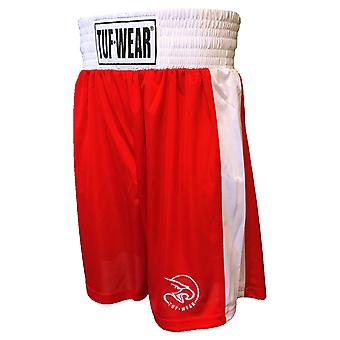 Tuf Wear Kids Junior Club Boxning Shorts Röd