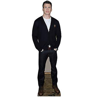 Chris Evans Lifesize Cardboard Cutout / Standee / Stand Up