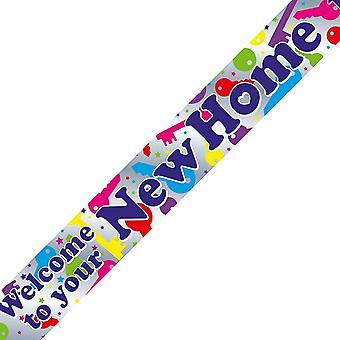 Oaktree Welcome To Your New Home Key Party Banner