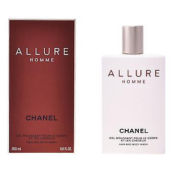 DuschGel Allure Homme Chanel (200 ml)