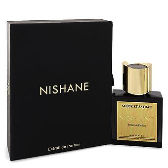 Nishane suede et saffraan extract de parfum spray door nishane 550416 50 ml