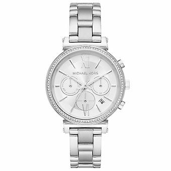Michael Kors MK6575 Sofie Chronograph Silver Dial Ladies Watch