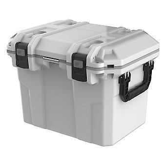 Tsunami Kühlbox 50 Quart Cooler Box 50 Liter, Weiß