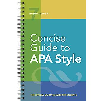 Concise Guide to APA Style by American Psychological Association - 97