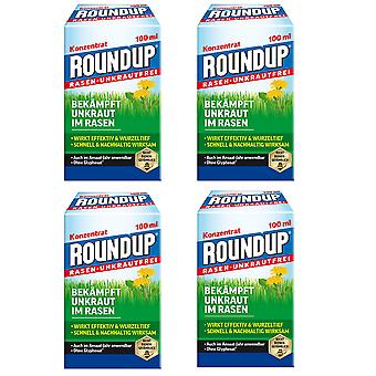 Sparset: 4 x ROUNDUP® Lawn Weed-Free, 100 ml
