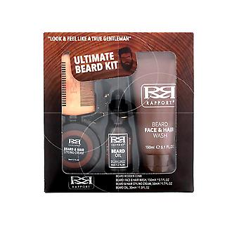 Rapport Ultimate Beard Kit - Beard Oil 30ml Face Wash 150ml,Styling Cream 50ml,Comb