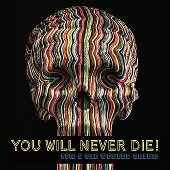Yom & Wonder Rabbis - You Will Never Die [CD] USA import