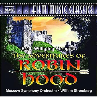 Korngold / Moscow Symphony Orchestra / Stromberg - Adventures of Robin Hood [CD] USA import