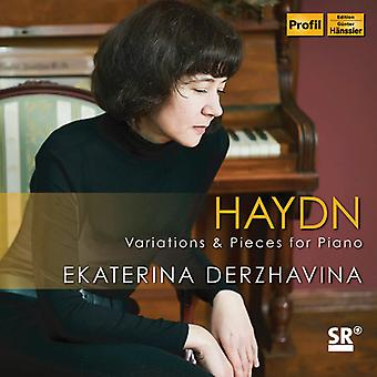 Variations & Pieces For Piano [CD] USA import