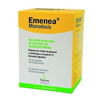 Emenea (saveur citron-lime) 20 unités de 10ml