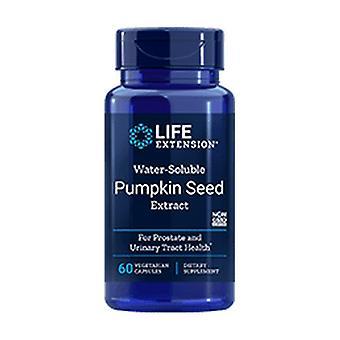 In water oplosbaar pompoenpittextract 60 capsules
