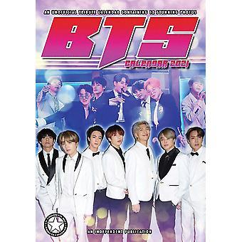 BTS Calendar 2021 Tribute Calendar A3, wall calendar 2021, 12 months, original English version.