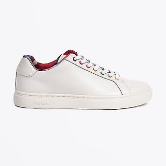 Paul Smith  - Leather 'Lapin' Multi Eyelet Sneakers - White