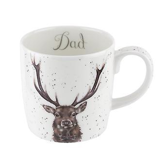 Wrendale Dad Stag Large Mug
