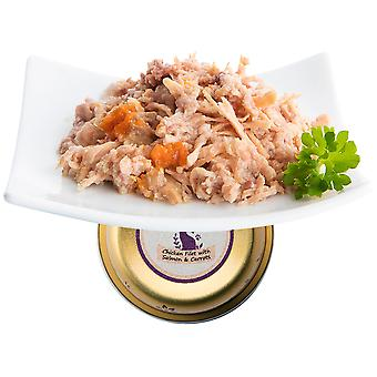 Nuevo Finest Terrine Chicken And Salmon Fillets (Cats , Cat Food , Wet Food)
