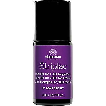 StripLAC Peel Off UV LED Nail Polish - Purple Secret 8ml (51)