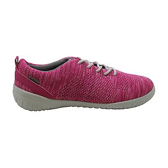 Rockport Women's Shoes Raelyn Knit Tie Low Top Lace Up Fashion Sneakers