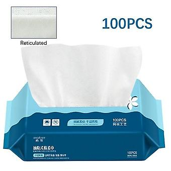 Travel Cotton Disposable - Wash Soft Clean Beauty Towel Uncompressed Wet And Dry Towel