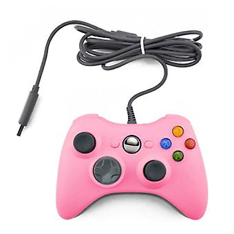 Stuff Certified® Gaming Controller for Xbox 360 / PC - Gamepad with Vibration Pink