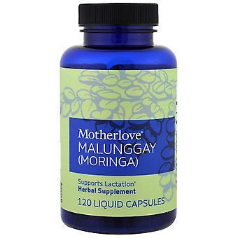 Motherlove, Malunggay (Moringa), 120 Liquid Capsules