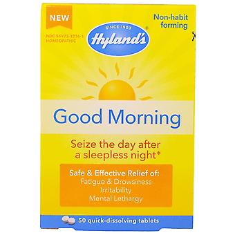 Hyland's, Good Morning, 50 Quick-Dissolving Tablets