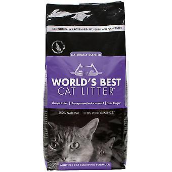's Werelds beste kattenstrooisel lavendel - 12,7 kg