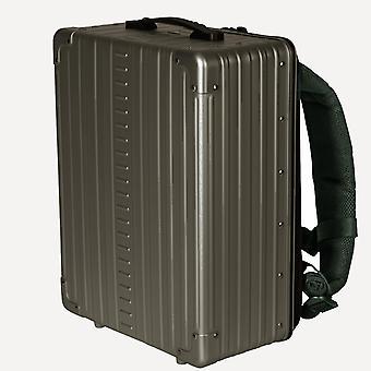 "Mochila de aluminio ALEON 17"" mochila 42 cm, Bronce"
