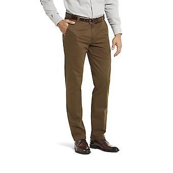 Meyer New York Cotton Trouser Tobacco