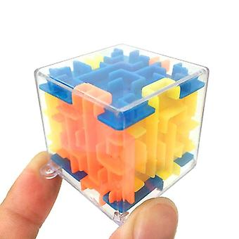 Plastic Cubes Ball Mini 3d Magic Kids Magical Labyrinth Game Puzzle Autism Toys Children