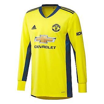 2020-2021 Man Utd Away Kapus Ing (sárga)