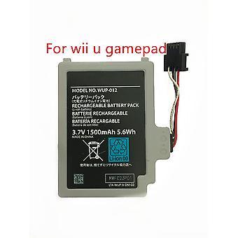 3.7v 1500mah recargable batería Pack reemplazo para Wii U Gamepad