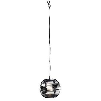 Forlight Rhiana - Badkamer Wire Ceiling Hanger Urban Grey Black 1x E27 IP44