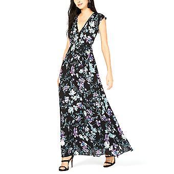 酒吧三|花卉印花带连衣裙