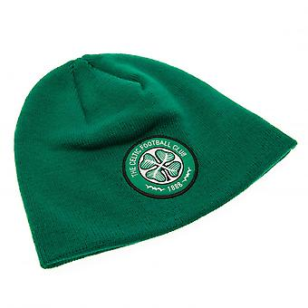 Celtic FC Official Adults Unisex Knitted Dome Hat