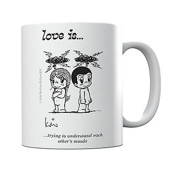Kærlighed forsøger at forstå hinandens Moods Mug