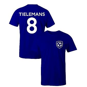 Youri Tielemans 8 Leicester Style Spelare Fotboll T-shirt