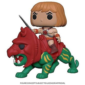 Masters Of The Universe - He-Man On Battle Cat USA Import