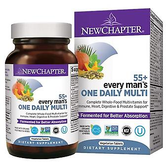 New Chapter Every Man One Daily 55 Plus, 24 Veg Tabs