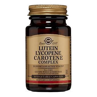 Solgar Lutein Lycopen caroten Komplekse vegetabilske kapsler, 30 V Caps