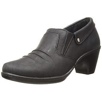 Easy Street Womens Bennett Almond Toe Clogs